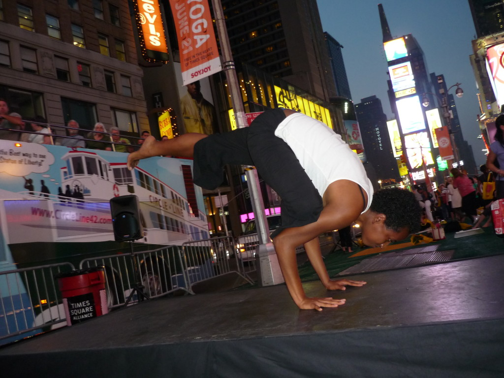 Summer Solstice - Times Square Yoga 3